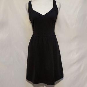 Cynthia Rowley Sweetheart Fit & Flare Black Dress